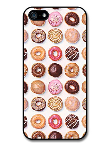 Cool Cute Donuts Pattern Food Snack Delicious Sugar case for iPhone 5 5S