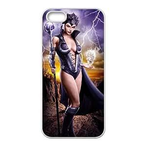 iPhone 4 4s Cell Phone Case White Evil Lyn Design 3D Phone Case Cover XPDSUNTR17291