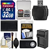 Essentials Bundle for Canon EOS 80D, 5D III IV, 5Ds, 5Ds R, 6D, 7D Mark II DSLR Camera with 32GB Card + LP-E6 Battery & Charger + Remote + Accessory Kit