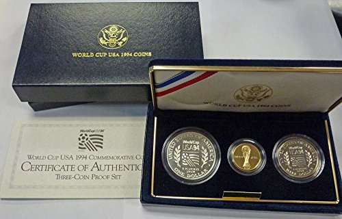 (1994 Various Mint Marks World Cup USA 1994 Commemorative Coins)