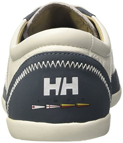 Helly Hansen Strandaberg, Zapatillas de Vela Para Hombre Bianco (Off White/Blue Mirage)