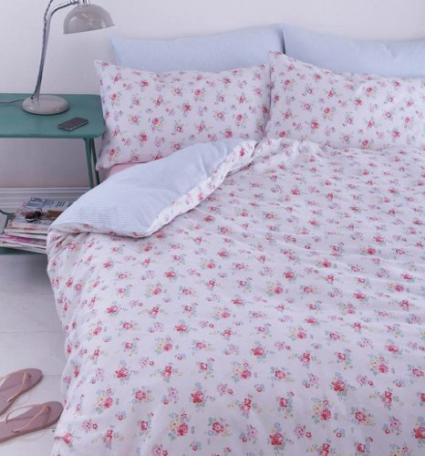 cath kidston camberwell rose double duvet cover and pillowcase set