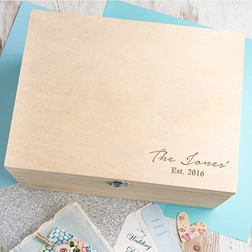 amazon com personalised family gifts for women engraved memory box