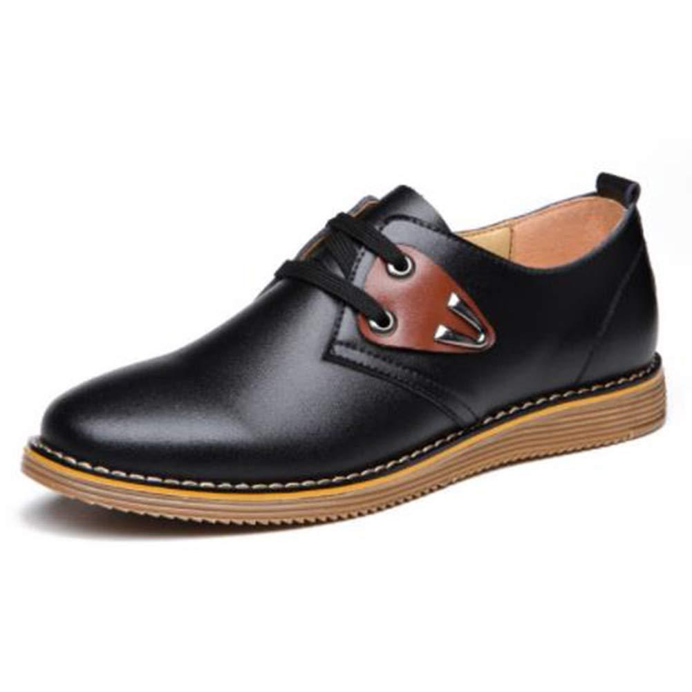 Men'sLace-up Lederschuhe Herren Casual Sportschuhe Herren Casual Schuhe Flache Schuhe Casual Schnürschuhe Driving Schuhe Komfortabel Atmungsaktiv Warm