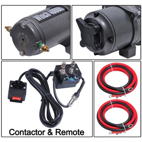 12 Volt 4000 Electric Winch Car Truck Corded Remote Buy