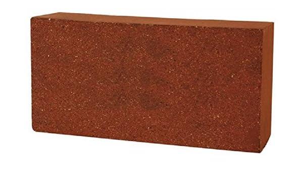 Unistara Starmax - Ladrillo refractario, 22 x 11 x 5 cm, 10 unidades, color rojo: Amazon.es: Bricolaje y herramientas