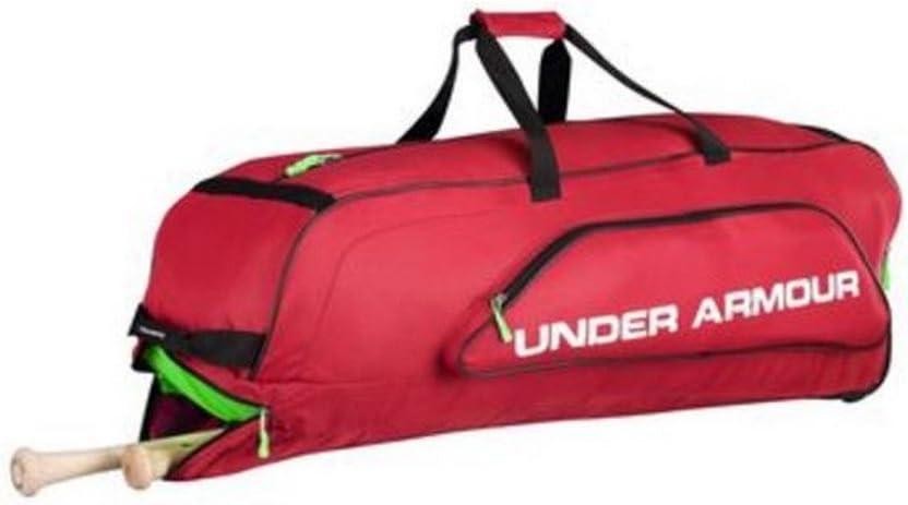 Black Under Armour UA Unisex Line Drive Roller Bag Baseball Black UASB-LDRB2
