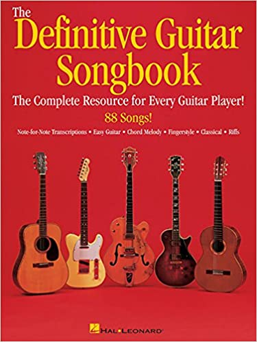 Amazon.com: The Definitive Guitar Songbook (9780634021923): Hal ...