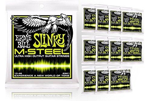 Ernie Ball 2921 M-Steel Regular Slinky Electric Guitar