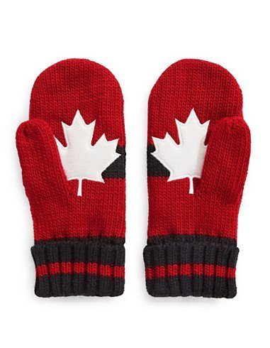 Canada Red and White HBC Exclusive Mittens Gloves Olympic 2018 - Canada Collection