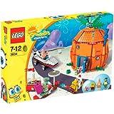 Lego - 3834 - Jeu de Construction - Bob l'Eponge et son Voisinage à Bikini Bottom