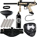 Action Village Tippmann Epic Paintball Gun Package Kit (Cronus) (Tan Basic)