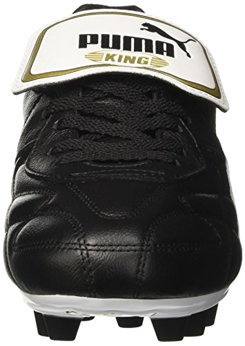 black white Puma De King i Top 01 M Chaussures i Football Gold Noirs team Hommes Pour Fg w7qw0rdO