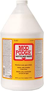 Mod Podge CS11304 Waterbase Sealer, Glue and Finish, 128 oz, Matte