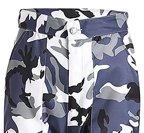 Npradla Jeans Mujer Vaqueros Para Casual Camuflaje Gris Moda De Deportivos Tendencia rrp65wn0