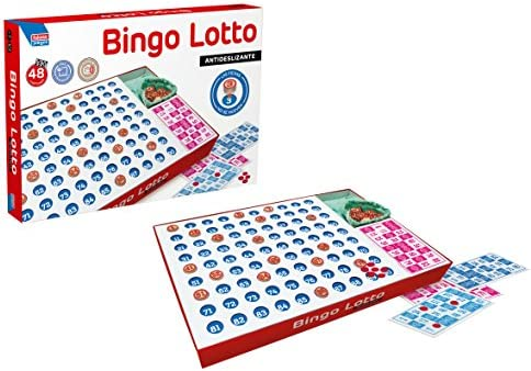 Falomir Bingo Lotto, Juego de Mesa, Clásico (11519): Amazon.es: Juguetes y juegos