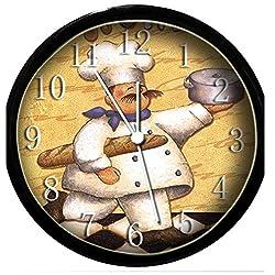 Glow In the Dark Wall Clock - Fat Chef #20