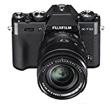 Fujifilm X-T10 Black Mirrorless Digital Camera Kit with XC16-50mm F3.5-5.6 OIS II Lens