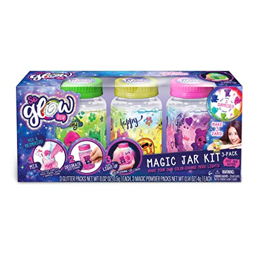 Canal Toys 255007 - So Glow DIY Magic Jar Kit (3 Pack), Multicolor -