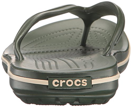 Crocs Unisex In Coccodrillo Flip Flop Forest / Stucco