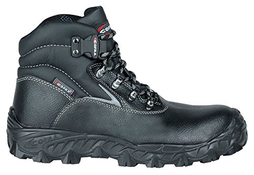 Cofra NA 007-000.W43 S3 SRC taglia 43 «Mar Nero» le scarpe di sicurezza, colore: nero