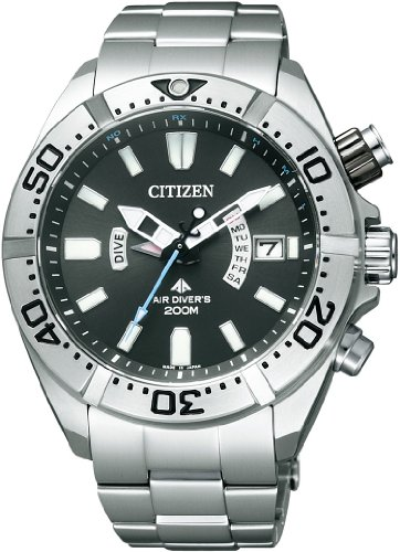 Citizen Mens PROMASTER Eco-Drive Professional Dive Watch [PMD56-3081]