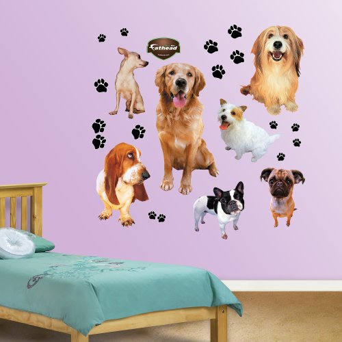 FATHEAD Dogs Graphic Wall ()