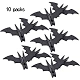 XZLIN 5 Boxes Bat Shape Plastic Clips Clothespins Clips Windproof Quilt Clip Clothes Hanging Pegs