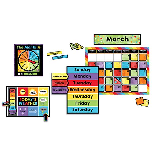 Carson Dellosa Celebrate Learning Calendar Bulletin Board Set (110376) -