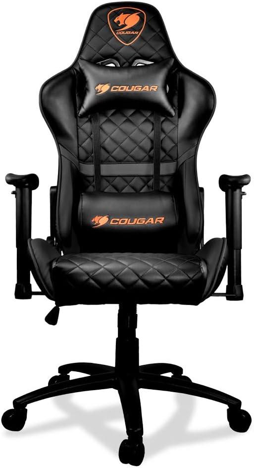 COUGAR Gaming Armor One Black Silla de Juegos, Imitación Cuero ...