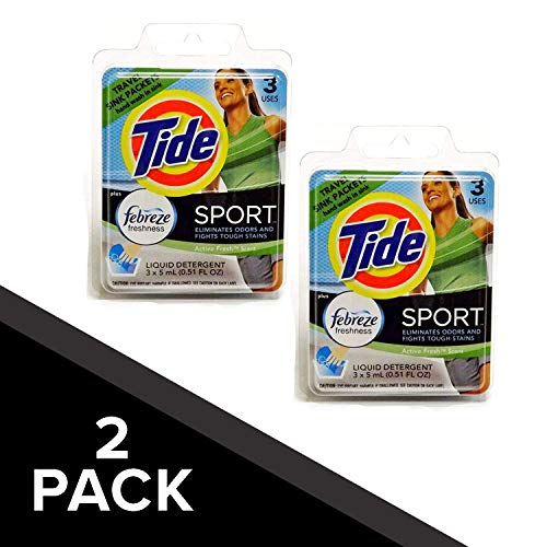 Tide Sport Travel Sink Packets (6) (Ship Abroad)