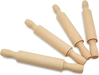 product image for Wooden Mini Rolling Pin, 7 Inches Long, Pack of 50, Perfect for Fondant, Pasta, Children in The Kitchen, Play-doh, Crafting and Imaginative Play, by Woodpeckers