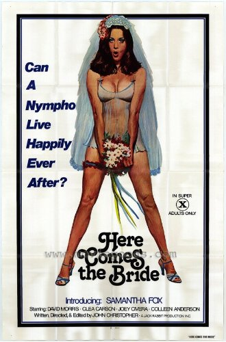 1976 Here Comes The Bride 27 x 40 inches Style A Movie Poster