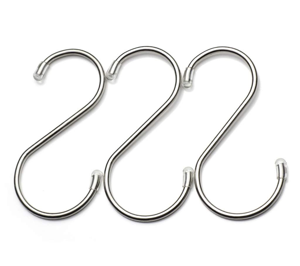 Stainless Steel S Shaped Hooks Hanging (S/25PCS)