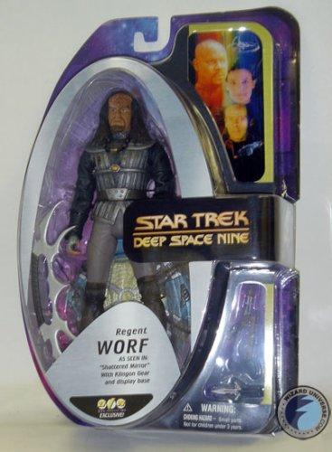 Star Trek Actionfigur : Regent Worf aus dem Spiegeluniversum