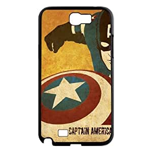 LSQDIY(R) Captain America Samsung Galaxy Note 2 N7100 Custom Case, High-quality Samsung Galaxy Note 2 N7100 Case Captain America