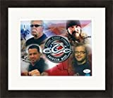 Orange County Choppers cast signed 8x10 signed by Paul Teutul Sr, Rusty Coones, Michael Teutul & Nick Mariconi JSA Matted & Framed