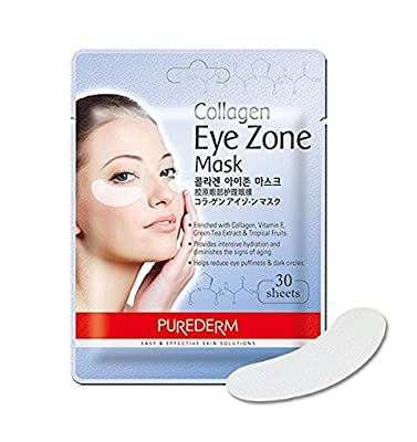 Purederm Collagen Eye Zone Pad Patches Mask Wrinkle Care