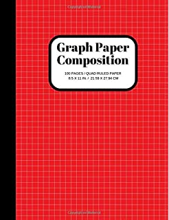 graph paper notebook squared graphing paper blank quad ruled