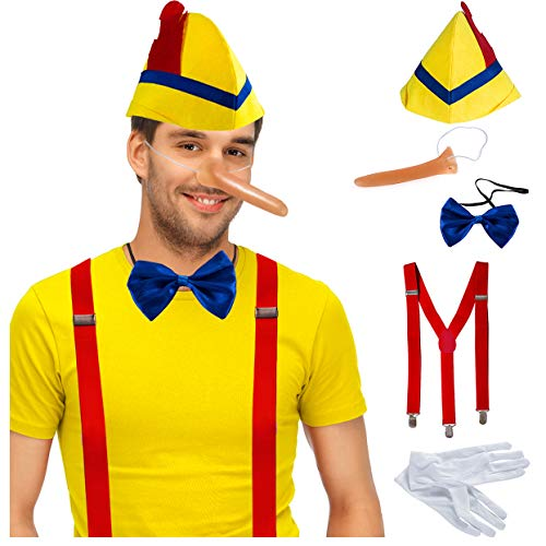 Tigerdoe Storybook Costumes - Fairy Tale Costumes - Dress Up - Disguise Costumes - Costumes for Adults - Dress Up Party Yellow ()