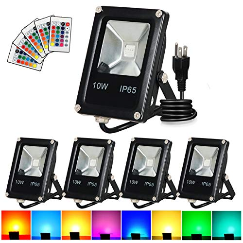 10W Rgb Color Changing Led Flood Light