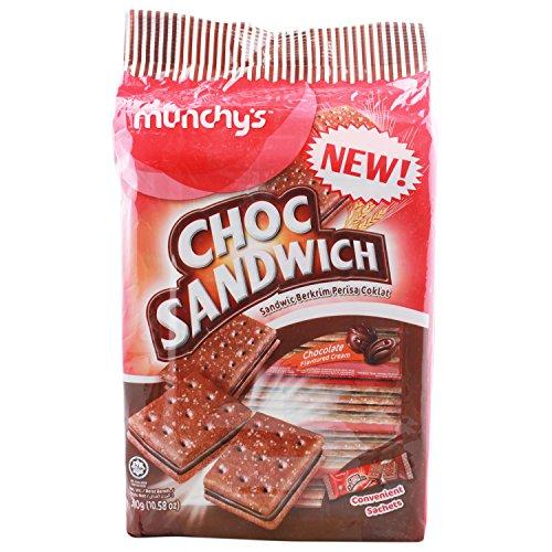 Munchy's Choco Sandwich Cracker, 300g