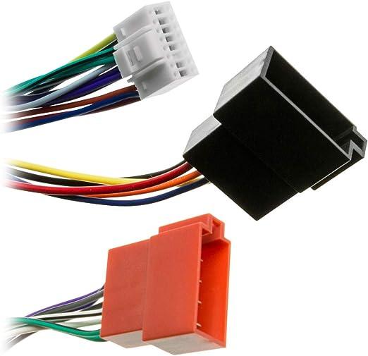 Adapter-Universe/® 1100/Cable adaptador ISO DIN para radio Alpine CDA CDE TDA TDM TDE CDM INA CVA
