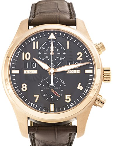 IWC Spitfire automatic-self-wind mens Watch IW3791-03 (Certified Pre-owned)