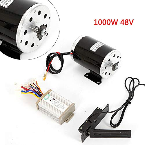 TFCFL Scooters Sporting Goods Outdoor DC Electric Motor Kit Base Speed Controller&Foot Pedal Throttle 1KW 48V from TFCFL