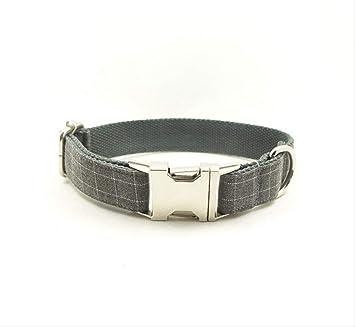 baoqsure Collar de Perro Personalizable con Placa ...