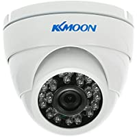 KKmoon TP-HD200iRB 1080P AHD CCTV Camera 3.6mm Len 1/3'' CMOS with 24Pcs IR LEDs IR-CUT Night Vision Waterproof Indoor & Outdoor Dome Camera