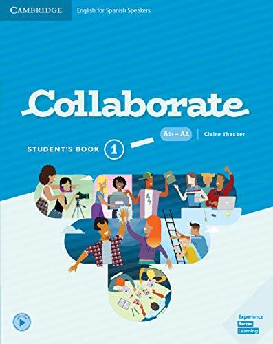 Collaborate Level 1 Student's Book por Claire Thacker