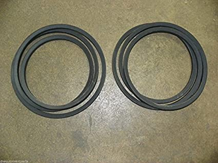Amazon com: Set of Two (2) Finish Mower Belts for 6' Sovema