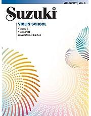 Suzuki violin school: volume 5 (revised 2009 edition) -: Violin Part